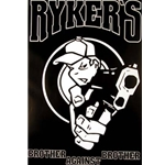 BUTTON ANARCHY RED