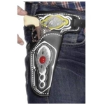 BUTTON METALLICA FLAMING SKULL