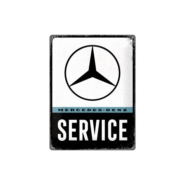 Mercedes Benz Service Blechschild