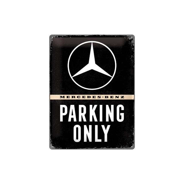 Mercedes Benz Parking Only Blechschild