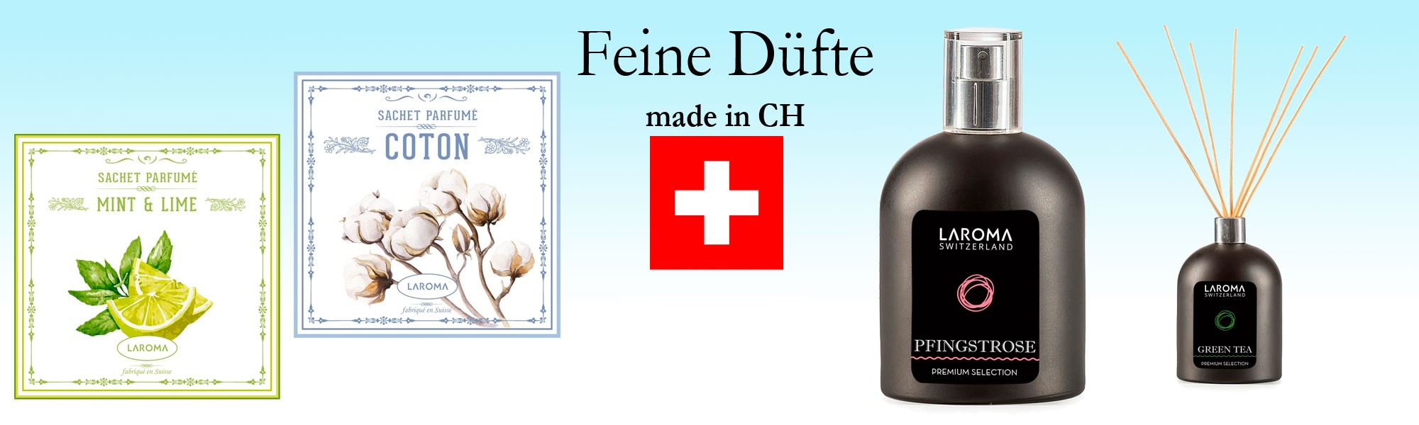 Feine Düfte made in CH