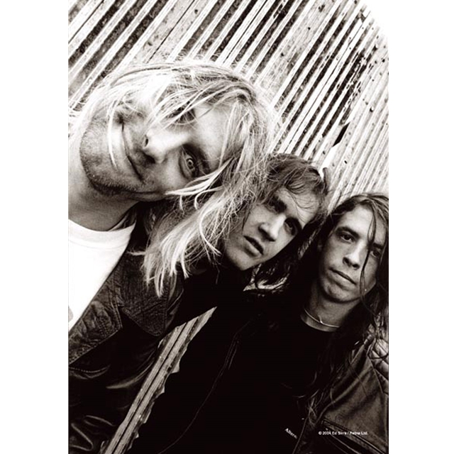 Nirvana - Band Shot Posterflagge