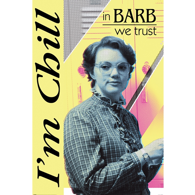 Stranger Things In Barb we trust Maxi-Poster 61x91,5cm