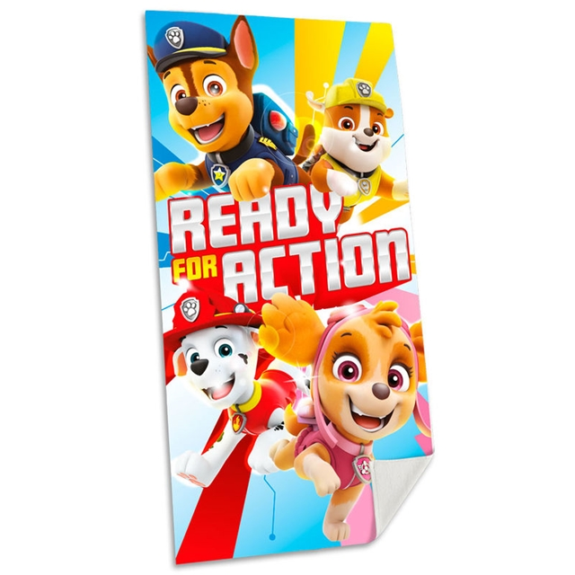 Paw Patrol Badetuch Ready for Action