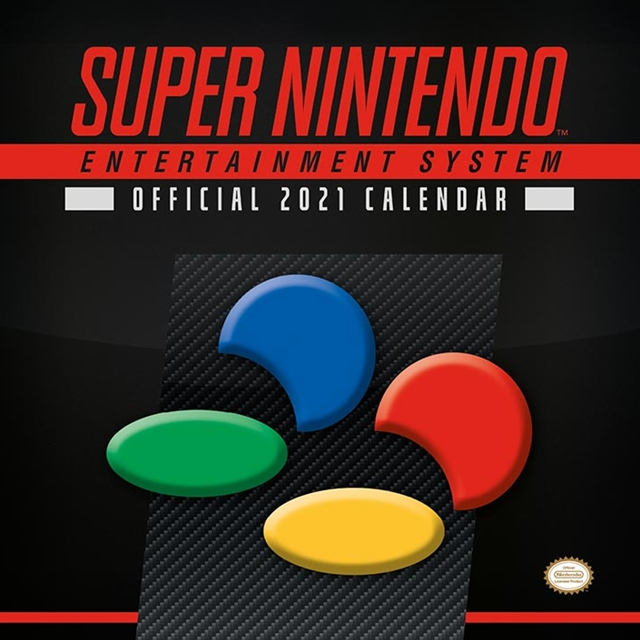 Super Nintendo Official  Calendar 2021