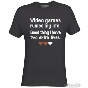 Video Games Ruines my Life T-SHIRT