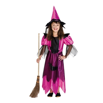 Midnight Witch Pink 152 KOSTÜM