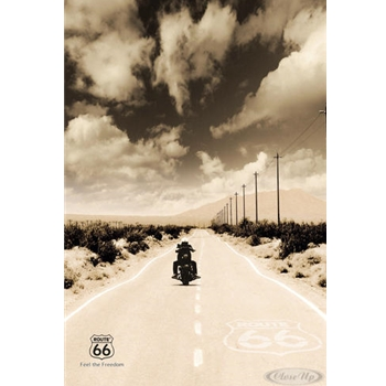 Route 66 Feel The Freedom POSTER