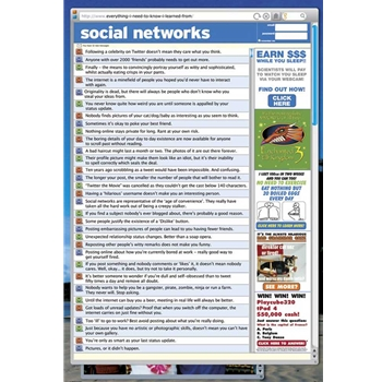 Social Networks Poster
