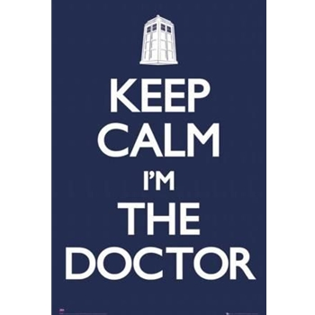Keep Calm Doctor Who Poster