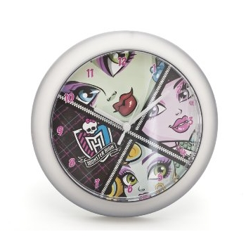 Monster High Wanduhr