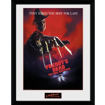 Nightmare On Elm Street - The Final Collector Print