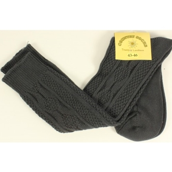 Kniesocken Anthrazit 39-42