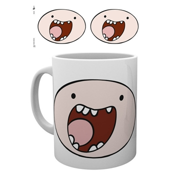 Adventure Time - Finn Face 295ml Tasse