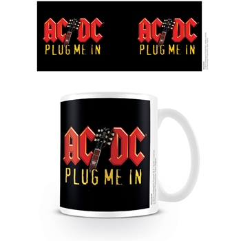 AC/DC Back Plug Me In Tasse