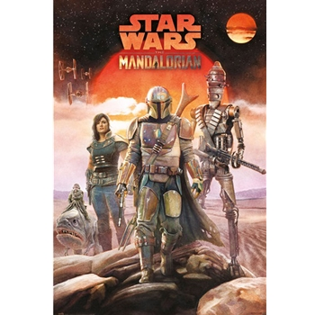 Star Wars The Mandalorian - Crew Poster