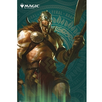 Magic the Gathering - Garruk Poster