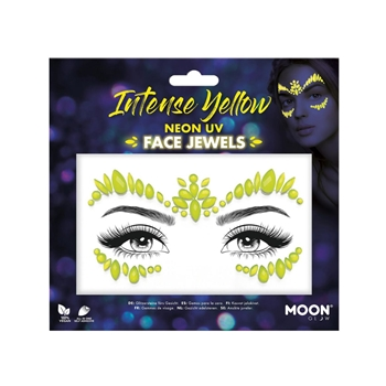 Moon Glow Face Jewels, Intense Yellow