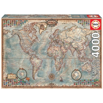 Historic World Map Puzzle