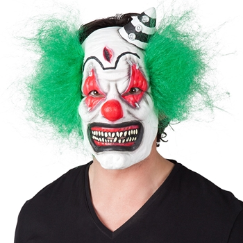 Horror Clown Latex Maske