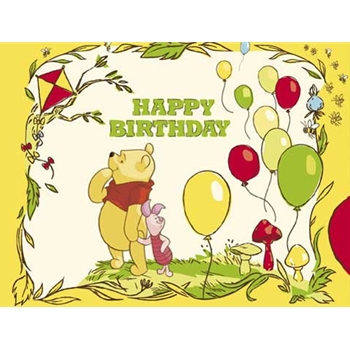 CD-HÜLLE Winnie and Piglet: Happy Birthday (443)